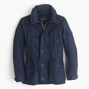 NWT J. Crew Field Mechanic Navy Jacket Size Small